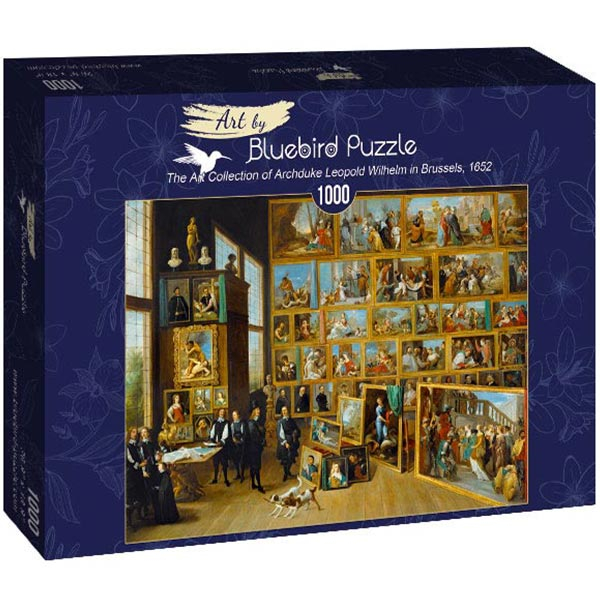 Bluebird puzzle 1000 pcs David Teniers the Younger - The Art Collection of Archduke Leopold Wilhelm in Brussels 60054 - ODDO igračke