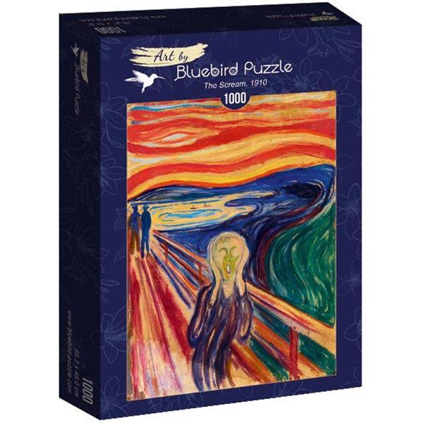 Bluebird puzzle 1000 pcs Munch - The Scream 60058 - ODDO igračke