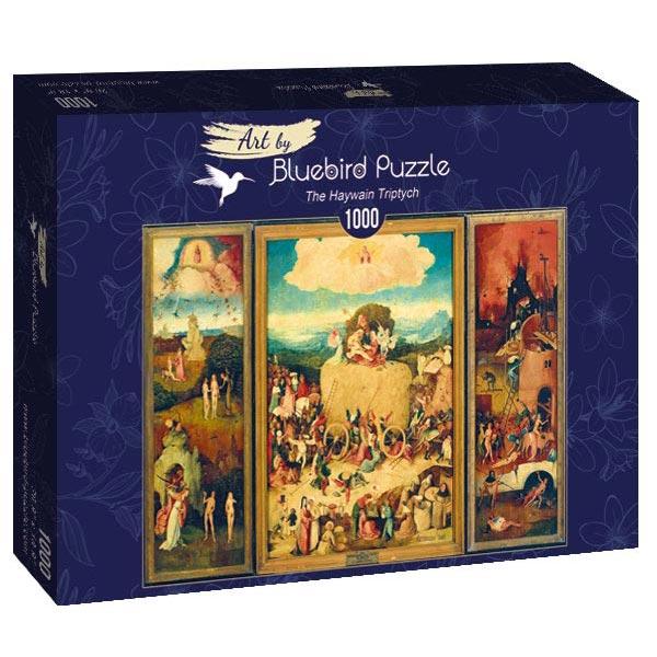 Bluebird puzzle 1000 pcs Bosch - The Haywain Triptych 60060 - ODDO igračke