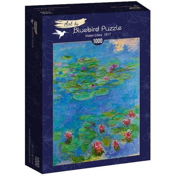 Bluebird puzzle 1000 pcs Claude Monet - Water Lilies 60062 - ODDO igračke