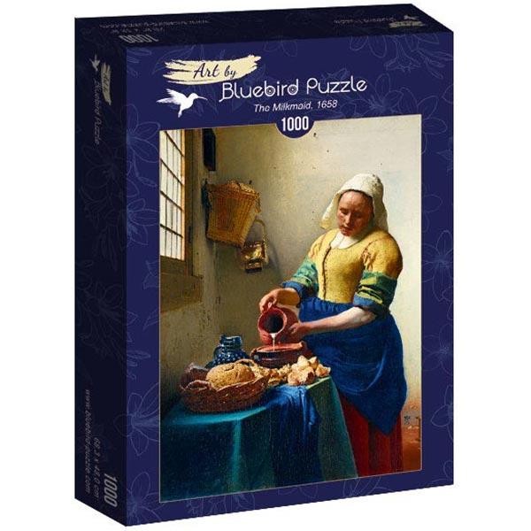 Bluebird puzzle 1000 pcs Johannes Vermeer- The Milkmaid 60066 - ODDO igračke
