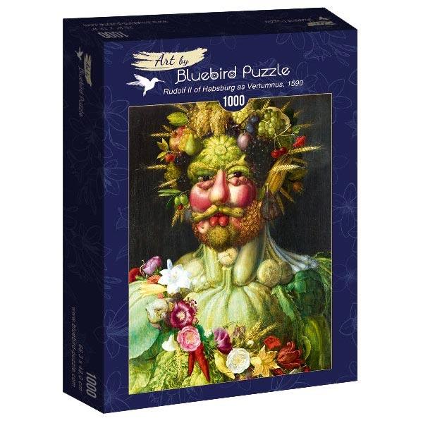 Bluebird puzzle 1000 pcs Arcimboldo - Rudolf II of Habsburg as Vertumnus 60074 - ODDO igračke