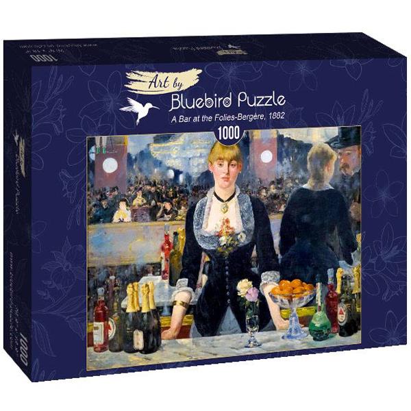 Bluebird puzzle 1000 pcs Edouard Manet - A Bar at the Folies-Bergere 1882 60080  - ODDO igračke