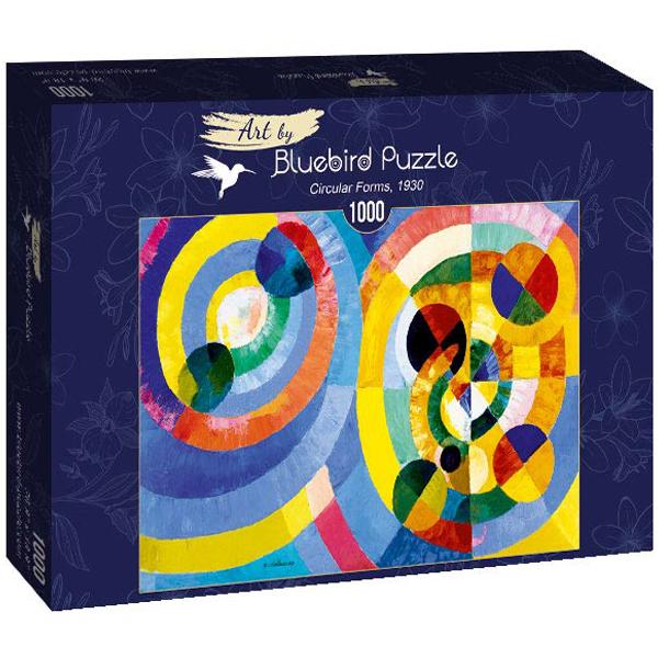 Bluebird puzzle 1000 pcs Robert Delaunay - Circular Forms, 1930 60081 - ODDO igračke