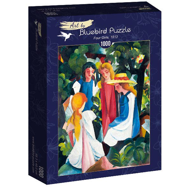 Bluebird puzzle 1000 pcs August Macke - Four Girls, 1913 60082 - ODDO igračke