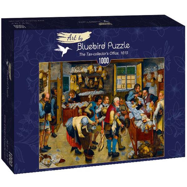Bluebird puzzle 1000 pcs Pieter Brueghel the Younger - The Tax-collectors Office, 1615 60085 - ODDO igračke