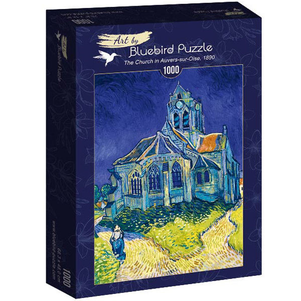 Bluebird puzzle 1000 pcs Vincent Van Gogh - The Church in Auvers-sur-Oise, 1890 60089 - ODDO igračke