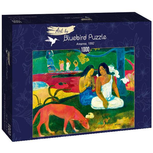 Bluebird puzzle 1000 pcs Gauguin - Arearea, 1892 60090 - ODDO igračke