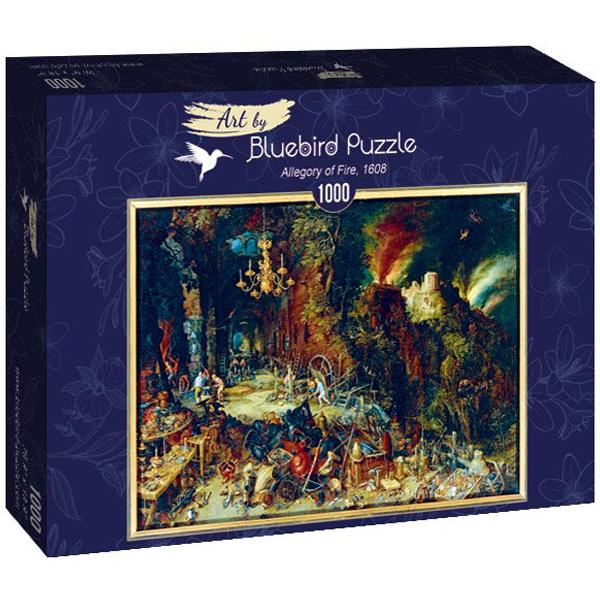 Bluebird puzzle 1000 pcs Jan Brueghel the Elder - Allegory of Fire, 1608 60091 - ODDO igračke