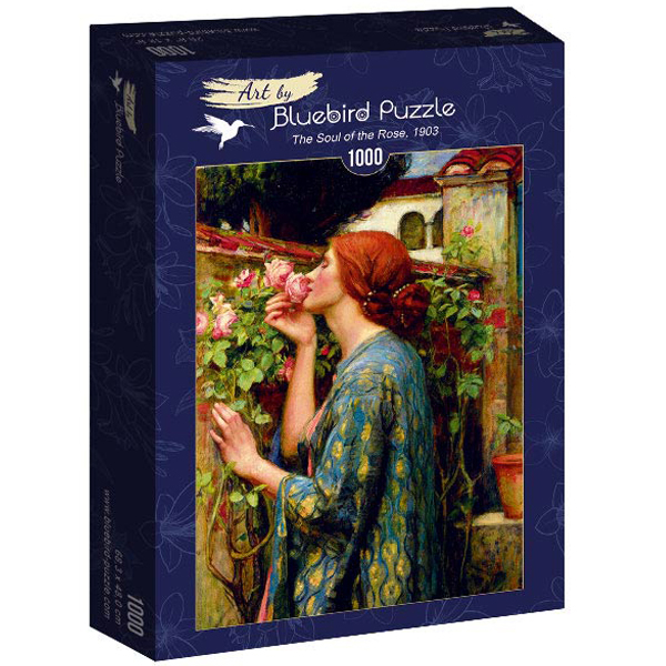 Bluebird puzzle 1000 pcs John William Waterhouse Rose, 1903 60096 - ODDO igračke