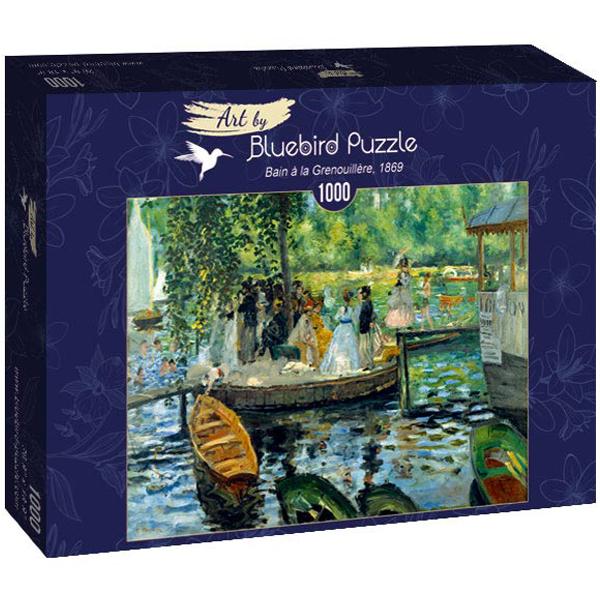 Bluebird puzzle 1000 pcs Renoir - La Grenouillere, 1869 60100 - ODDO igračke
