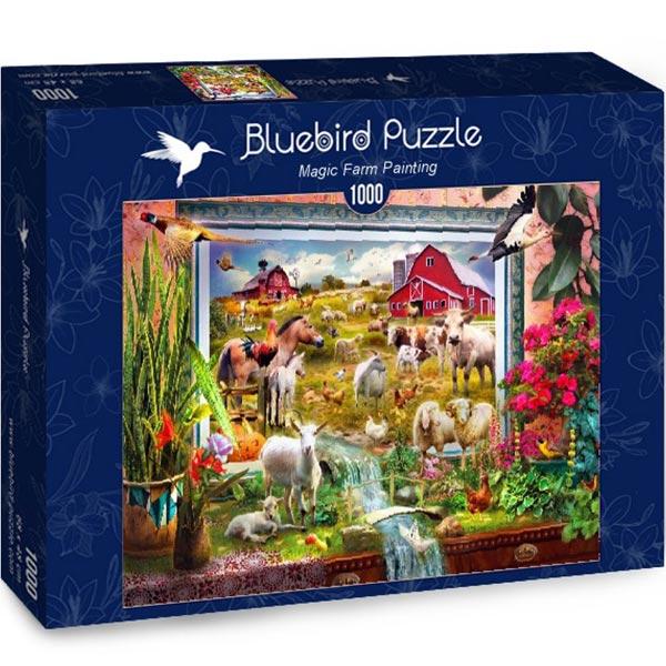 Bluebird puzzle 1000 pcs Magic Farm Painting 70029 - ODDO igračke