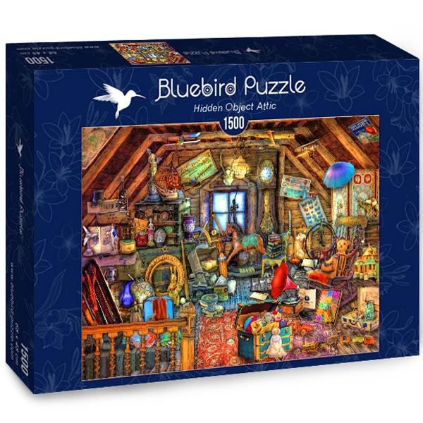 Bluebird puzzle 1500 pcs Aimee Stewart Hidden Object Attic 70434 - ODDO igračke