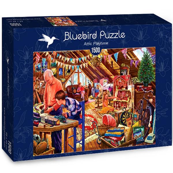 Bluebird puzzle 1500 pcs Steve Crisp Attic Playtime 70433 - ODDO igračke