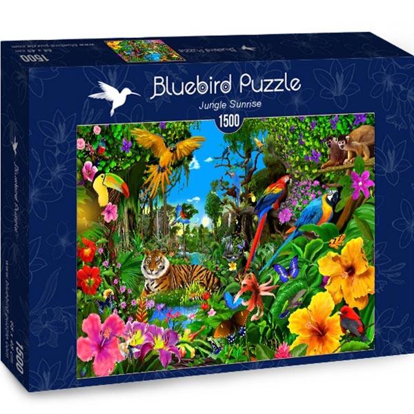 Bluebird puzzle 1500 pcs Jungle Sunrise 70150 - ODDO igračke
