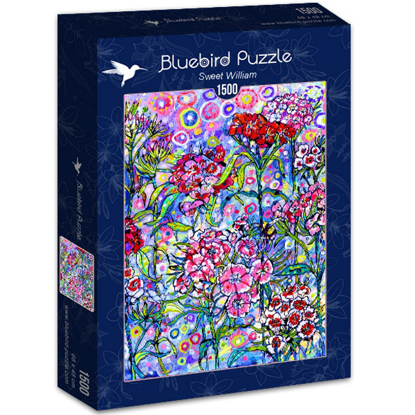 Bluebird puzzle 1500 pcs Sally Rich Sweet william 70432 - ODDO igračke