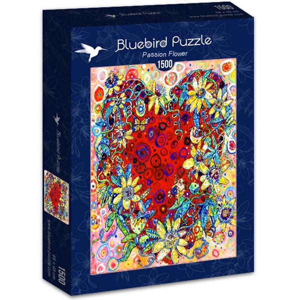 Bluebird puzzle 1500 pcs Sally Rich Passion Flower 70431 - ODDO igračke