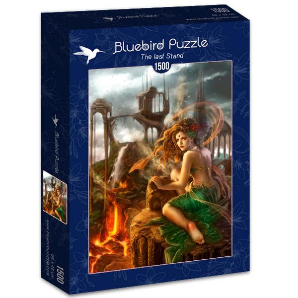 Bluebird puzzle 1500 pcs Cris Ortega The last Stand 70429 - ODDO igračke