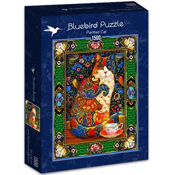 Bluebird puzzle 1500 pcs Painted Cat 70152 - ODDO igračke