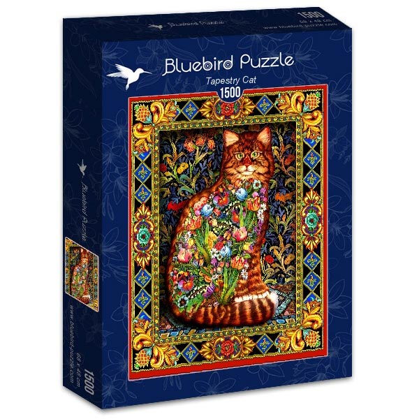 Bluebird puzzle 1500 pcs Tapestry Cat 70153 - ODDO igračke