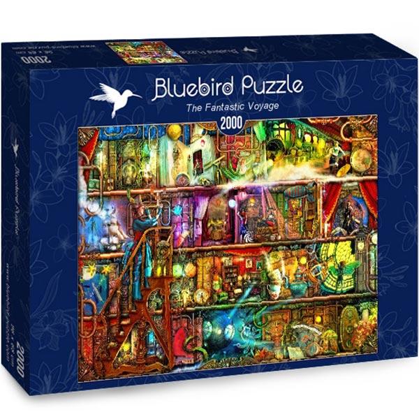 Bluebird puzzle 2000 pcs The Fantastic Voyage 70161 - ODDO igračke