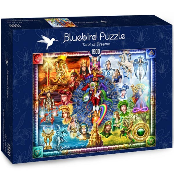 Bluebird puzzle 1500 pcs Tarot of Dreams 70178 - ODDO igračke