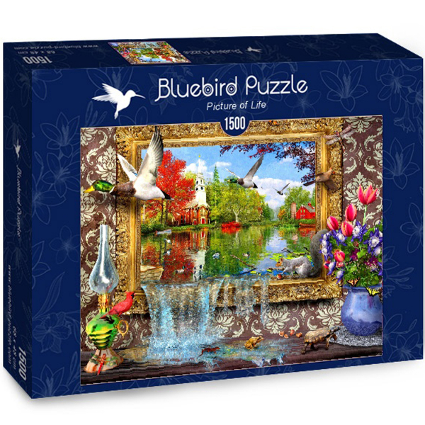 Bluebird puzzle 1500 pcs Picture of Life 70191 - ODDO igračke