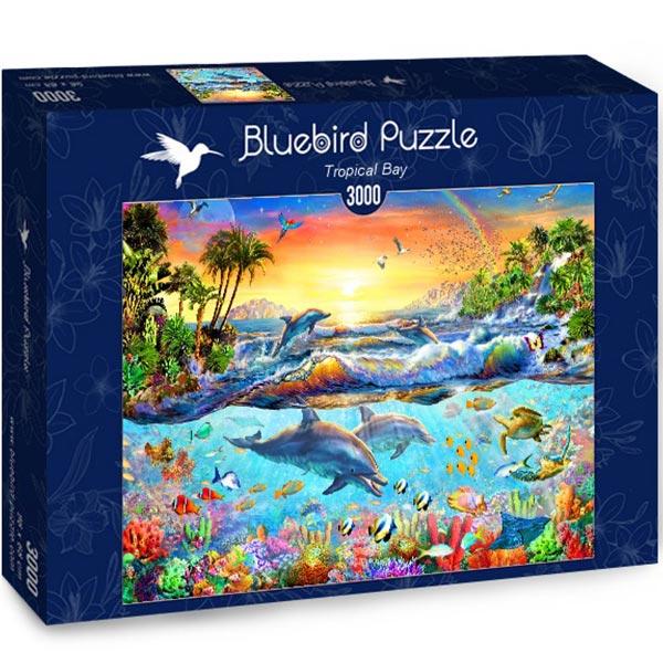 Bluebird puzzle 3000 pcs Tropical Bay 70194 - ODDO igračke