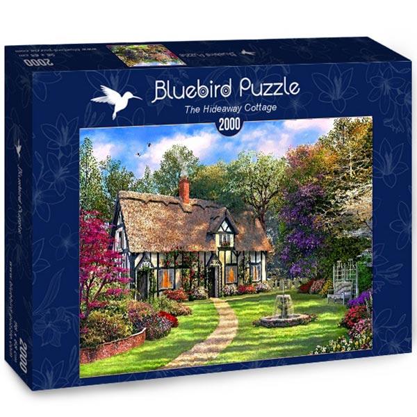 Bluebird puzzle 2000 pcs The Hideaway Cottage 70196 - ODDO igračke