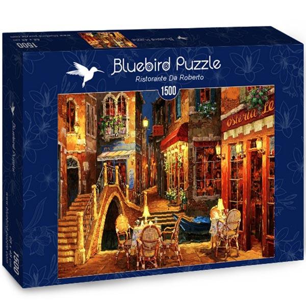 Bluebird puzzle 1500 pcs Ristorante Da Roberto 70213 - ODDO igračke