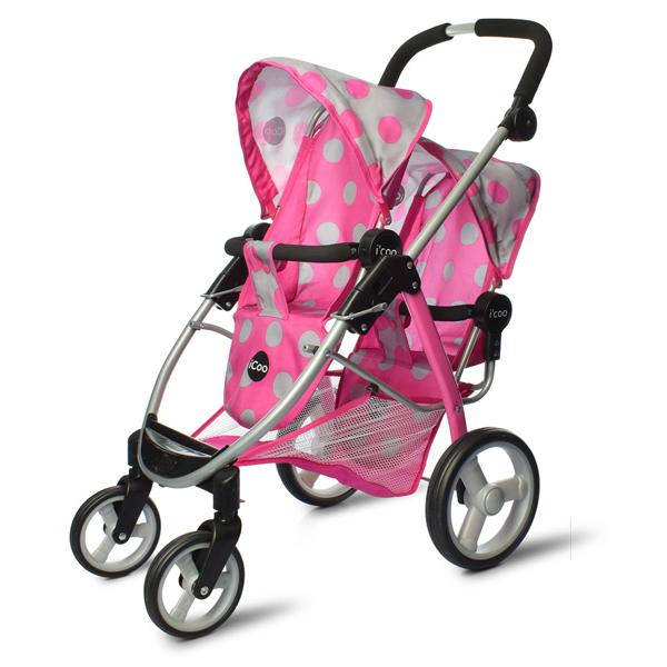 Kolica za lutke Hauck iCoo Duett Stroller D-91248 - ODDO igračke
