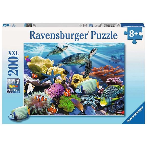 Ravensburger puzzle (slagalice) 200XXL Ocean Turtles RA12608 - ODDO igračke