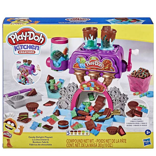 Play-Doh Candy Playset E9844 - ODDO igračke