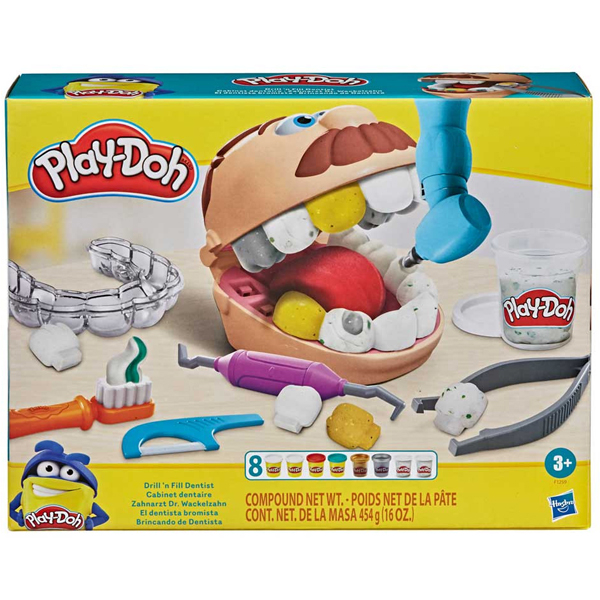 Play-Doh Drill n Fill Dentist F1259 - ODDO igračke