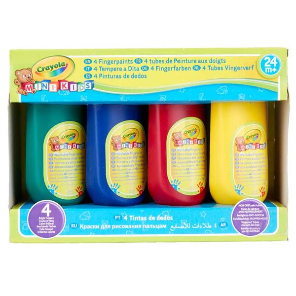 Crayola za prstiće set 4 boje GA256455 - ODDO igračke