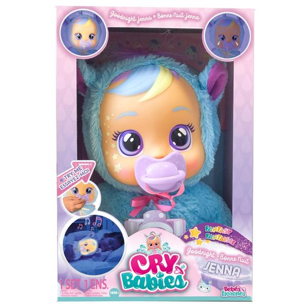 Crybabies Plačljivica lutka Goodnight Jenna Noćko IM80898       - ODDO igračke