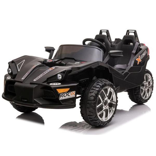 Auto na akumulator crni 12V7AH*1+2 JC777  - ODDO igračke