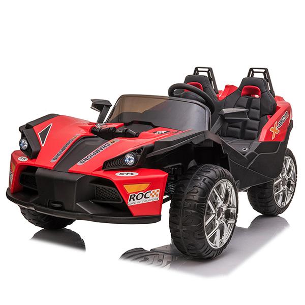 Auto na akumulator crveni 12V7AH*1+2 JC777  - ODDO igračke