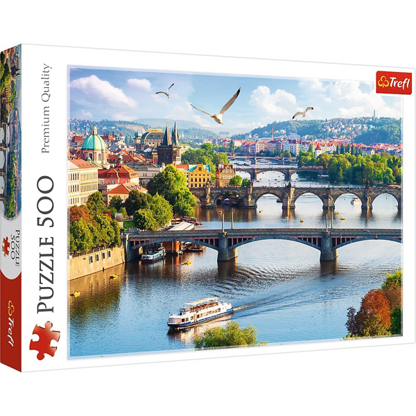 Trefl Puzzla 500 pcs Prague 37382 - ODDO igračke