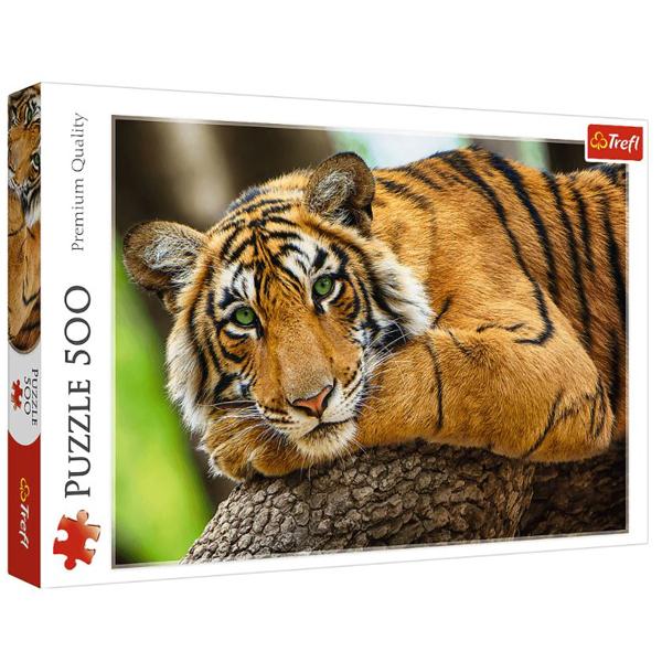 Trefl Puzzla 500 pcs Tiger Portrait 37397 - ODDO igračke