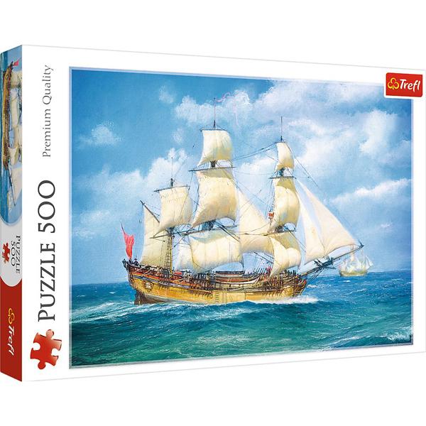 Trefl Puzzla 500 pcs Sea Journey 37399 - ODDO igračke