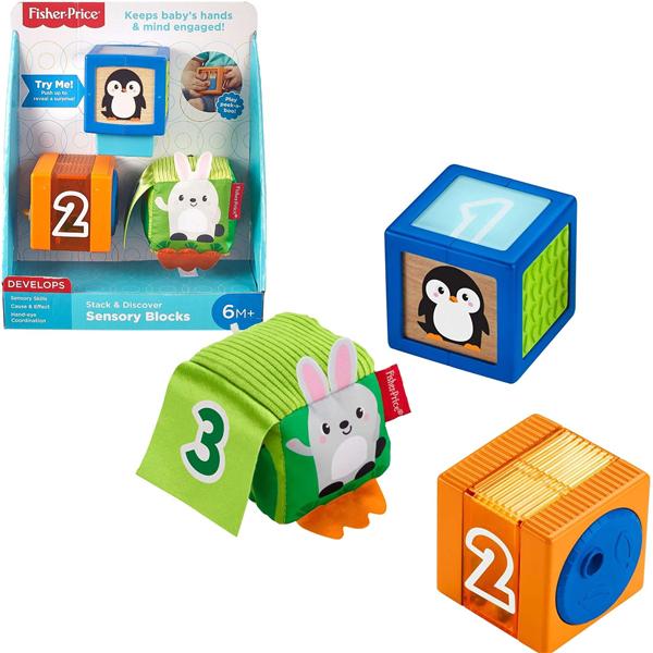 Fisher Price baby kocke GJW13 - ODDO igračke