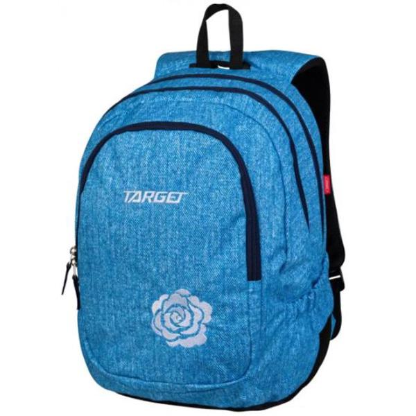 Ranac za školu Target 3zip Duel Bright Denim 26939  - ODDO igračke
