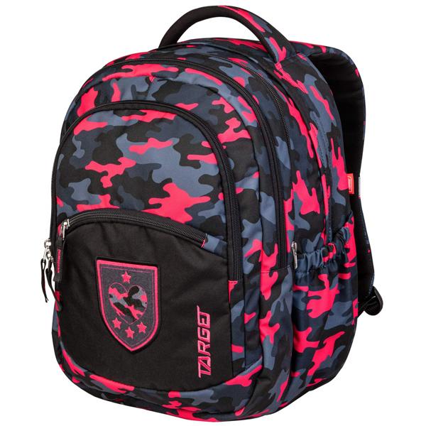 Ranac za školu Target 2u1 Camouflage Pink 26943 - ODDO igračke
