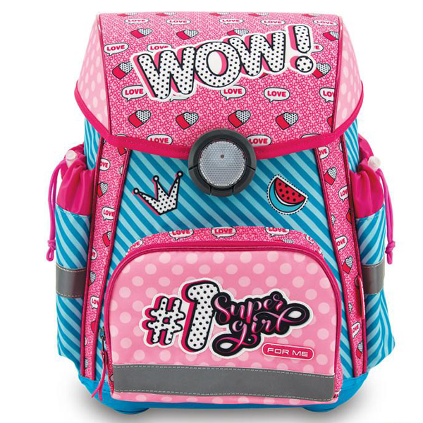 Školske torbe For Me Anatomske WOW FSB2030 - ODDO igračke