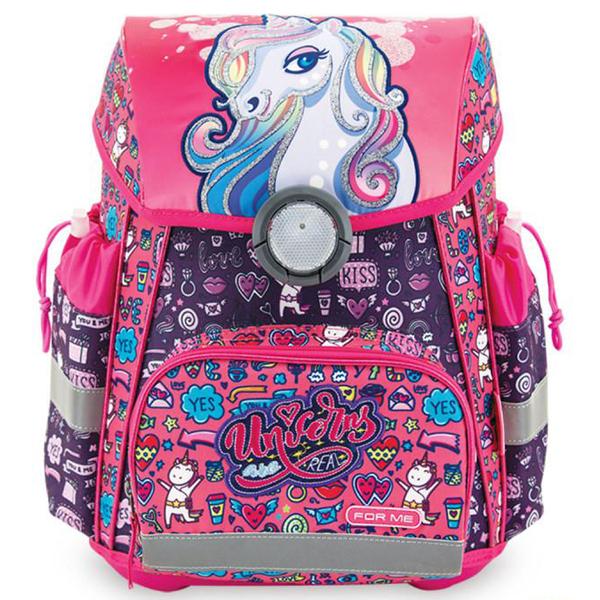 Školske torbe For Me Anatomske Unicorn Jednorog FSB2040 - ODDO igračke