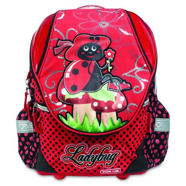 Školske torbe For Me Anatomske Ladybug FET40210 - ODDO igračke