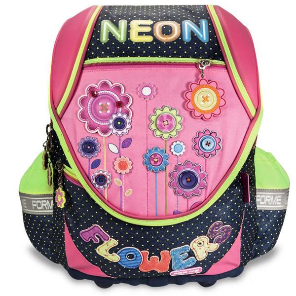 Školske torbe For Me Anatomske Neon FET150510 - ODDO igračke