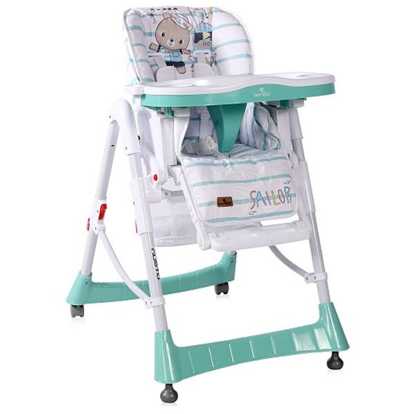 Lorelli Hranilica stolica za hranjenje Gusto Aquamarine Sailor 10100362032 - ODDO igračke