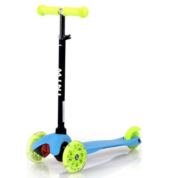 Trotinet Mini Blue and Green Lorelli 10390010006 - ODDO igračke
